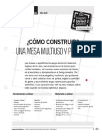 Mu-Is29 Mesa Plegable