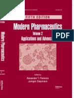 Modern Pharmaceutics, Fifth Edition, Volume 2 Applications and Advances.pdf