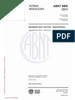 NBR 7211_2009 - Agregado Para Concreto