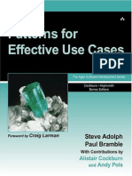 UML - Patterns for Effective Use Cases.pdf