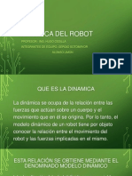 Dinamica Del Robot Ppt