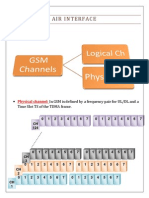 Air interface for gsm