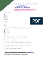Formular de Aplicatie Lider26