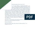 Atividade Interdisciplinar de Direito Penal I 2013