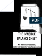 Invisible Balance Sheet