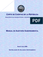 Manual de Auditoria Gubernamental Ccr El Salvador