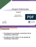 PSW - Unidad 2 - Metodologías Tradicionales