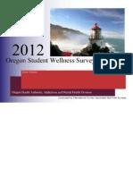 2012 Student Wellness Survey