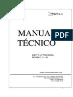 manual técnico  FCA - lampada UV TRIFÁSICA1-1139