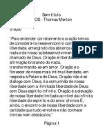 Pensamentos - Thomas Merton