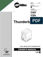miller thunderbolt welder
