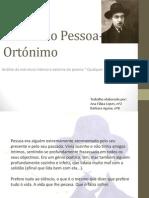 Fernando Pessoa- Ortónimo