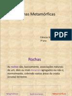 Rochas Metamorficas1