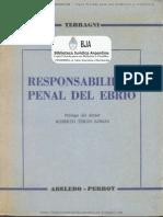 Responsabilidad Penal Del Ebrio
