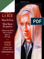 Gothic Voices - La Rue - Missa de Feria.pdf