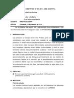 Informe Cientifico de Protozoarios