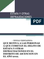 Estafa y Otras Defraudaciones (2)[1]