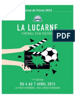 Festival La Lucarne - Dossier de Presse 2013