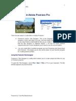 Tutorial 2 - Adobe Premier Pro