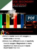 Chapter 6 Reactivity