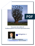 Story Master Class & Workshops Terrence Gargiulo