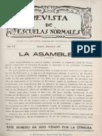 Revista de escuelas normales (Guadalajara). 12-1934, n.º 107