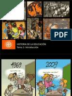1. Introducción a la historia de la educacion