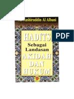 Al Hadîts Hujjah Bi Nafsihi Fil Aqâid Wal Ahkâm – Syaikh al Albâni