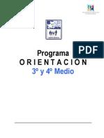 Programa O. 3 y 4 Medio