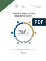 Cuaderno de Trabajo de Tutoria Del Estudiante 2013