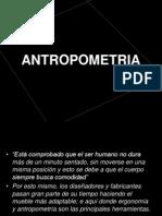 Antropometria mobiliario