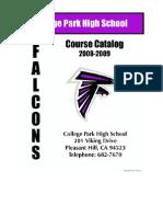 Course Catalog 08-09