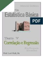 Estatística básica 5 correlação e regresão