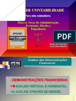 SLIDES-ANALISE DAS DEMONSTRAÇÕES CONTABEIS