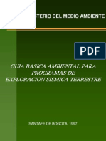 GUIA_~15 Para la exploración sismica MINISTERIO AMBIENTE