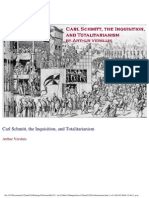 Carl Schmitt, The Inquisition, And Totalitarianism_Arthur Versluis