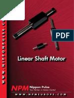 Cat Linearshaf Motor