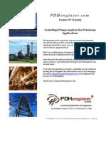 centrifugal pump analysis