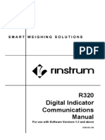 Communications Manual R300 603 100