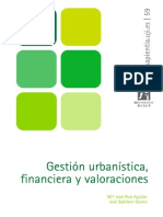 Gestion Urbanistica Financiera y Valoraciones