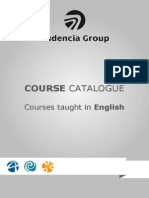 Course Catalogue Audencia Group - Courses Taught in English