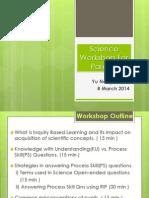 Science Workshop for Parents 2014