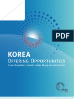 KOREA Offering Opportunities