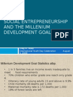 Social Entrepreneurship and the MDGs