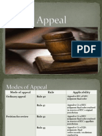 Report on Appeal