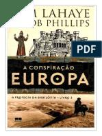 A Profecia da Babilônia Livro 03 - A Conspiração Europa - Tim Lahaye