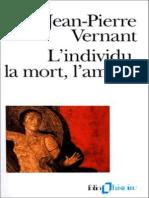 Vernant, Jean-Pierre - L'Individu, La Mort l'Amour