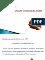 18250 Enviromentel Studies