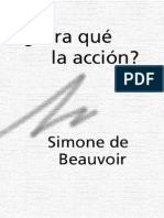 Beauvoir, Simone de - ¿Para qué la acción¿ [1944]
