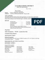 RP BOE Meeting Agenda (May 17, 2013)